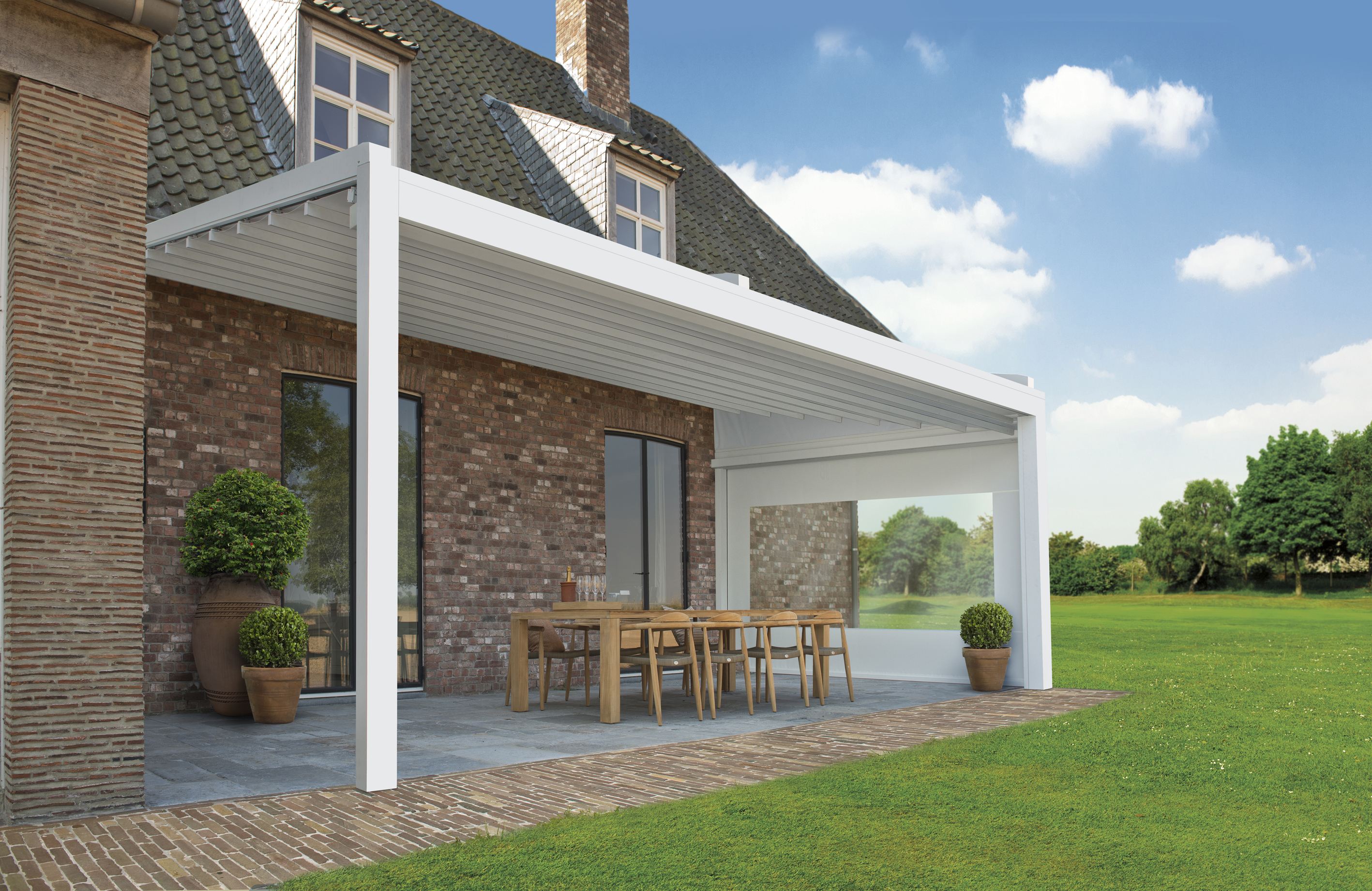 Brustor B-500 Outdoor Living white - visual 2014 - MONT#2ACE85